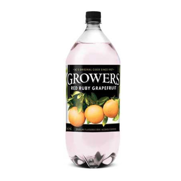Growers Red Ruby Grapefruit 2L 1